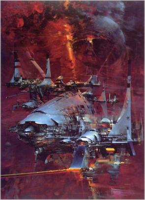 Science Fiction Starship Art