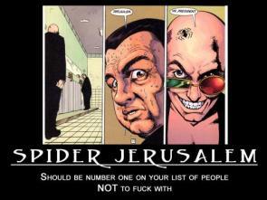 Spider Jerusalem Motivational Poster