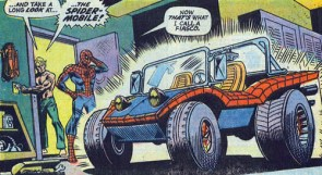 Spider-Man's Spider-Mobile