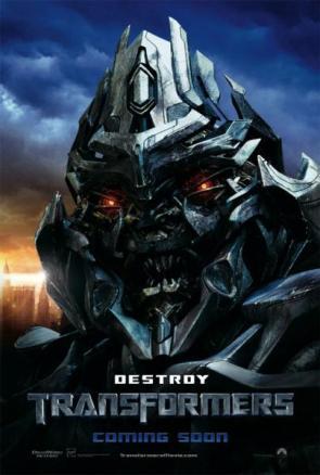 Transformers International Movie Posters – Bumble Bee, Megatron, Optimus Prime