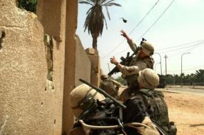 Grenade Throw Wallpaper