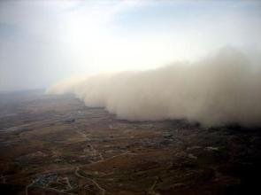 Incoming Sand Storm