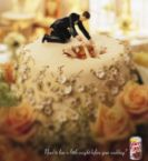 Weight Watchers Wedding Cake Advertisement