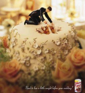 Weight Watchers Wedding Cake Advertisement