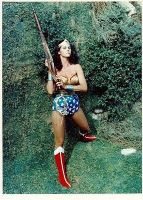 Wonder Woman With Rifle