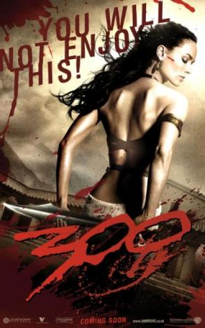 300 Movie Poster – you will not enjoy this