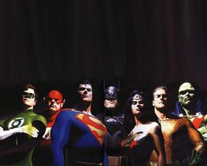 Justice League Wallpaper by Alex Ross