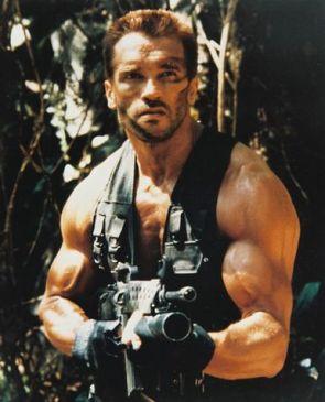 Arnold In Predator