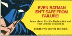 Even Batman isn't safe from failure!