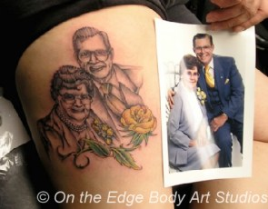 More Shitty Portrait Tattoos
