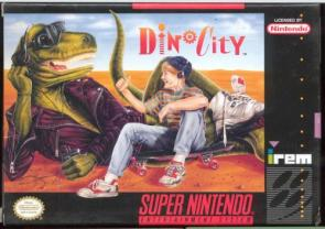 DinoCity SNES Game