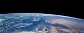 Earth From Space Dual Monitor Wallpaper
