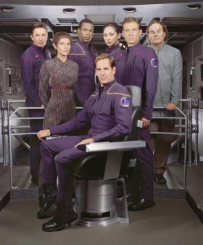 Star Trek – Enterprise – High Resolution Crew Picture