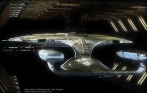 Star Trek Wallpaper – Enterprise USS 1701-D In Spacedock