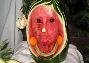 Watermellon Fruit Head