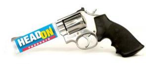 Headon hand gun