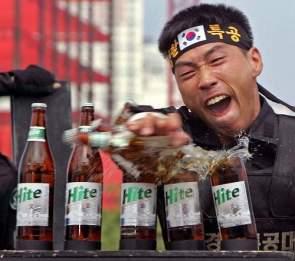 Enjoy Hite Beer – The Korean way