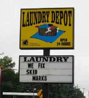 Laundry Depot – We Fix Skid Marks