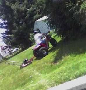 ATV Lawn Mower