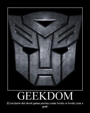 Geek Motivational Poster