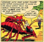 Jimmy Olsen Mounts An Ant