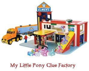 Elmer's My Little Pony Glue Factory Play Set