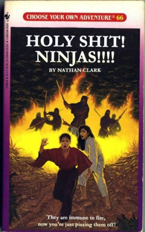 HOLY SHIT!  NINAS!!! Choose Your Own Adventure