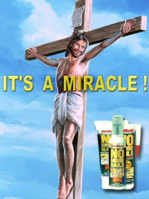 Jesus Christ Endorses No More nails!