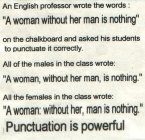 Puncuation is Everything!