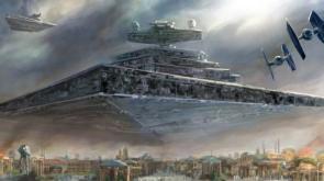 Star Destroyer On Approach