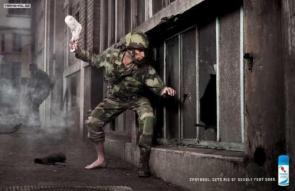 Ephydrul Foot Deoderant Advertisement