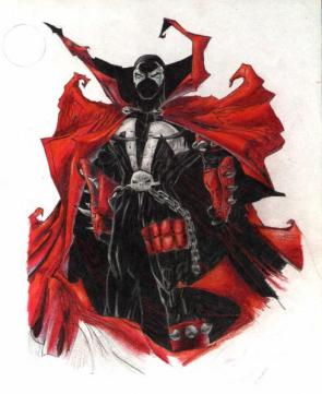Spawn Colored Sketch Art