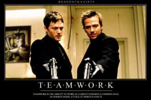Boondock Saints Teamwork Motivational Poster