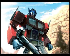 Transformers – Optimus Prime Wallpaper