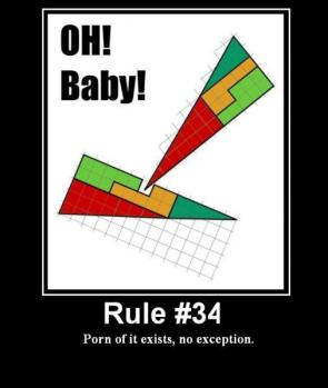 Rule 34 – Impossible Triangle Sex