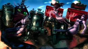 Warhammer 40k Orcs Widescreen Wallpaper