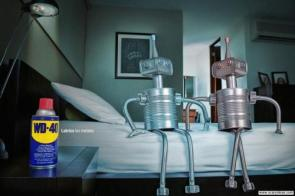 WD-40 Lubricant Advertisement