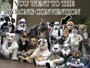 You went to the wrong convention!