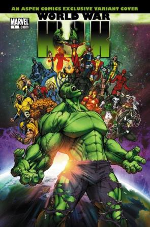 World War Hulk – Aspen Cover