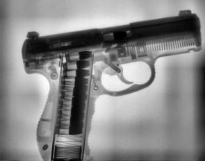 X-Ray Of Pistol