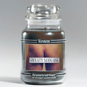Yankee Candle – Sweaty man-Ass Scent