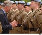Prince Charles Inspects Teh Boobies