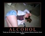Alchohol Motivational – Thank you Mr. Daniels, Mr Guinness, Senor Tequila