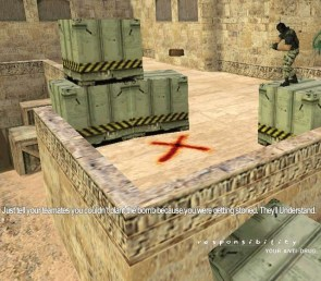 CounterStrike Anti-Drug Advertisement
