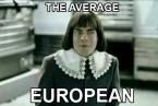 The Average European