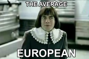 The Average European