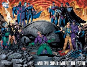 Villians Of DC – Countdown Advertisement