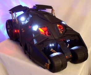 Batmobile Computer Case