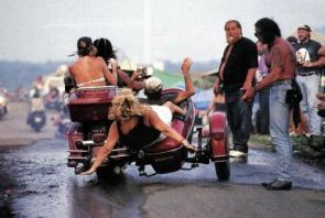 Motorcycle Sidecar Fall