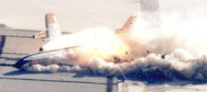 NASA/FAA Test Crash of A Boeing 720
